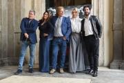Foto/IPP/Gioia Botteghi 27/04/2017 Roma  presentazione del film IL MONDO DI MEZZO, nella foto:  il regista Massimo Scaglione con Sperandeo, Bacci, Forgia, Branciamore