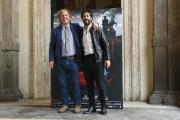 Foto/IPP/Gioia Botteghi 27/04/2017 Roma  presentazione del film IL MONDO DI MEZZO, nella foto: Matteo Branciamore ed il regista Massimo Scaglione