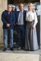 Foto/IPP/Gioia Botteghi 27/04/2017 Roma  presentazione del film IL MONDO DI MEZZO, nella foto: Laura Lena Forgia, Toni Sperandeo con il regista Massimo Scaglione