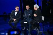 Foto/IPP/Gioia Botteghi 28/04/2017 Roma Prima puntata de I MIGLIORI ANNI, rai uno, nella foto: Carlo Conti con Lopez e Solenghi