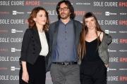 Foto/IPP/Gioia Botteghi 02/05/2017 Roma presentazione ddel film Sole cuore amore, nella foto:  Isabella Ragonese Eva Grieco ed il regista Daniele Vicari