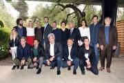 Foto/IPP/Gioia Botteghi 04/05/2017 Roma presentazione della fiction rai Maltese il romanzo del commissario, nella foto: cast