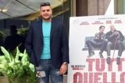 Foto/IPP/Gioia Botteghi 05/05/2017 Roma presentazione del film TUTTO QUELLO CHE VUOI, nella foto Riccardo Vitello