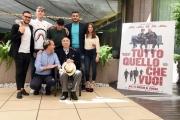 Foto/IPP/Gioia Botteghi 05/05/2017 Roma presentazione del film TUTTO QUELLO CHE VUOI, nella foto Cast