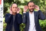 Foto/IPP/Gioia Botteghi 11/05/2017 Roma presentazione del film Orecchie, nella foto : il regista Alessandro Aronadio con Daniele Parisi