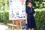Foto/IPP/Gioia Botteghi 11/05/2017 Roma presentazione del film Orecchie, nella foto :  Silvia D'Amico