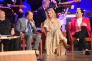 Foto/IPP/Gioia Botteghi 24/05/2017 Roma sesta puntata del Maurizio Costanzo Show, nella foto Michelle Hunziker, Gratteri e Malgioglio