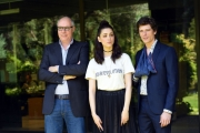 Foto/IPP/Gioia Botteghi 30/05/2017 Roma presentazione della fiction rai 2 non uccidere2, nella foto: Miriam Leone e Matteo Martari, regista Giuseppe Gagliardi