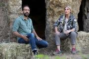 Foto/IPP/Gioia Botteghi 01/06/2017 Pitigliano, registrazione deele prime puntate di Linea verde estate condotta da Federica Dedenaro e Federico Quaranta