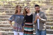 Foto/IPP/Gioia Botteghi 04/06/2017 Roma, primo ciak della nuova trasmissione di rai uno 8 puntate il sabato pomeriggio W LA MAMMA, nella foto: Veronica Maya, Monica Marangoni, Domenico Marocchi