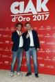 Foto/IPP/Gioia Botteghi 08/06/2017 Roma, premiazione dei Ciak d'oro, nella foto: Ficarra e Picone