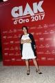 Foto/IPP/Gioia Botteghi 08/06/2017 Roma, premiazione dei Ciak d'oro, nella foto:  Dafne Scoccia
