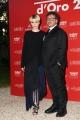 Foto/IPP/Gioia Botteghi 08/06/2017 Roma, premiazione dei Ciak d'oro, nella foto:  Marco Berardi e Caterina Sciula