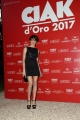 Foto/IPP/Gioia Botteghi 08/06/2017 Roma, premiazione dei Ciak d'oro, nella foto:  Micaela Ramazzotti