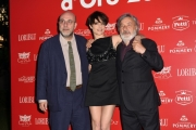 Foto/IPP/Gioia Botteghi 08/06/2017 Roma, premiazione dei Ciak d'oro, nella foto:  Paolo Virzì, Micaela Ramazzotti, Gianni Amelio