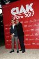 Foto/IPP/Gioia Botteghi 08/06/2017 Roma, premiazione dei Ciak d'oro, nella foto:   Enrico Lucherini e Gianluca Pignatelli