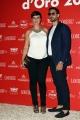 Foto/IPP/Gioia Botteghi 08/06/2017 Roma, premiazione dei Ciak d'oro, nella foto:   Roberta Giarrusso e marito