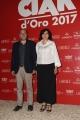 Foto/IPP/Gioia Botteghi 08/06/2017 Roma, premiazione dei Ciak d'oro, nella foto: Andrea Molaioli e signora