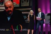Foto/IPP/Gioia Botteghi 16/06/2017 Roma, Premio Marisa Bellisario , nella foto  Maria De Filippi con Massimiliano Ossini