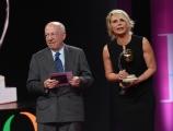 Foto/IPP/Gioia Botteghi 16/06/2017 Roma, Premio Marisa Bellisario , nella foto Fedele Confalonieri premia Maria De Filippi