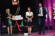 Foto/IPP/Gioia Botteghi 16/06/2017 Roma, Premio Marisa Bellisario , nella foto Virginia Raggi con Massimiliano Ossini
