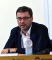 Foto/IPP/Gioia Botteghi 11/07/2017 Roma, conferenza stampa  alla stampa estera di Matteo Salvini, nella foto Giancarlo Giorgetti vice di Salvini riconfermato ieri sera