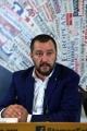 Foto/IPP/Gioia Botteghi 11/07/2017 Roma, conferenza stampa  alla stampa estera di Matteo Salvini