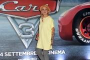Foto/IPP/Gioia Botteghi 12/07/2017 Roma, presentazione del film CARS 3, nella foto la voce italiana La Pina