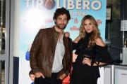 Foto/IPP/Gioia Botteghi 11/09/2017 Roma, presentazione del film TIRO LIBERO, nella foto: Simone Riccioni e Maria Chiara Centorami