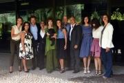 Foto/IPP/Gioia Botteghi 12/09/2017 Roma, presentazione della fiction di rai uno Provaci ancora Prof 7, nella foto: cast con il regista Lodovico Gasparini