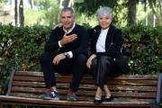 Foto/IPP/Gioia Botteghi 22/09/2017 Roma, presentazione della fiction di rai uno IN ARTE NINO, nella foto: Luca ed  Erminia Manfredi