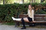 Foto/IPP/Gioia Botteghi 22/09/2017 Roma, presentazione della fiction di rai uno IN ARTE NINO, nella foto: Arianna Battilana
