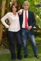 Foto/IPP/Gioia Botteghi 26/09/2017 Roma, presentazione della nuova seria di rai 2 Nemo nessuno escluso, nella foto: Enrico Lucci, Valentina Petrini