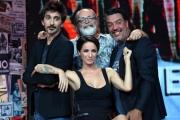 Foto/IPP/Gioia Botteghi 27/09/2017 Roma, presentazione della nuova serie di Stracult su rai 2, nella foto: G-max, Marco Giusti, Fabrizio Biggio, Andrea Delogu