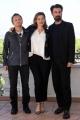 Foto/IPP/Gioia Botteghi 04/10/2017 Roma, presentazione del film DOVE NON HO MAI ABITATO, nella foto: Emmanuelle Devos, Paolo Franchi, Fabrizio Gifuni