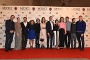 Foto/IPP/Gioia Botteghi 14/10/2016 Roma fiction rai MEDICI, nella foto: cast e produttori