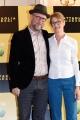 Foto/IPP/Gioia Botteghi 16/10/2017 Roma, presentazione  del film LA BATTAGLIA DEI SESSI, nella foto i due registi: Valerie Faris e Jonathan Dayton