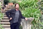 Foto/IPP/Gioia Botteghi 22/10/2017 Roma, presentazione del film GEOSTORM, nella foto Gerard Batler nel giardino dell'hotel De Russie