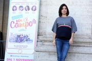 Foto/IPP/Gioia Botteghi 23/10/2017 Roma, presentazione del film non c'è campo, nella foto CLAUDIA POTENZA Italy Photo Press - World Copyright