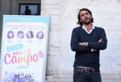 Foto/IPP/Gioia Botteghi 23/10/2017 Roma, presentazione del film non c'è campo, nella foto CORRADO FORTUNA Italy Photo Press - World Copyright