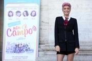 Foto/IPP/Gioia Botteghi 23/10/2017 Roma, presentazione del film non c'è campo, nella foto la cantante Elodie Italy Photo Press - World Copyright