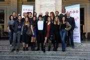 Foto/IPP/Gioia Botteghi 23/10/2017 Roma, presentazione del film non c'è campo, nella foto cast Italy Photo Press - World Copyright
