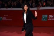 Foto/IPP/Gioia Botteghi 26/10/2017 Roma Festa del cinema di Roma red carpet Virginia Raggi Italy Photo Press - World Copyright