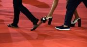 Foto/IPP/Gioia Botteghi 27/10/2017 Roma Festa del cinema di Roma red carpet calzature da red carpet Italy Photo Press - World Copyright