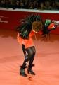 Foto/IPP/Gioia Botteghi 27/10/2017 Roma Festa del cinema di Roma red carpet Marina Ripa di Meana perde le penne Italy Photo Press - World Copyright