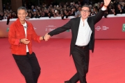 Foto/IPP/Gioia Botteghi 28/10/2017 Roma Festa del cinema di Roma red carpet con Rosario Fiorello  Italy Photo Press - World Copyright