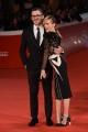 Foto/IPP/Gioia Botteghi 30/10/2017 Roma Festa del cinema di Roma red carpet Justine Mattera e marito Italy Photo Press - World Copyright