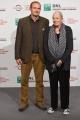 Foto/IPP/Gioia Botteghi 02/11/2017 Roma Festa del cinema di Roma Photocall Vanessa Redgrave con il figlio Carlo Gabriel Nero Italy Photo Press - World Copyright