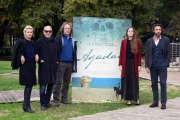 Foto/IPP/Gioia Botteghi 10/11/2017 Roma, presentazione del film Agadh, nella foto: cast italiano Italy Photo Press - World Copyright