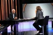 Foto/IPP/Gioia Botteghi 12/11/2017 Roma, Puntata di mezz'ora in più con Lucia Annunziata che intervista Walter Veltroni Italy Photo Press - World Copyright
